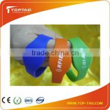 Custom Fabric or Silicon Rfid Wristband for Waterpark