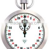 Stainless Mechanical Stopwatch, Stainless stop watch with different designs
