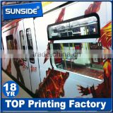 laminating white or grey back 3M sticker/3M car wrapping vinyl for wall/window decoration-Q122