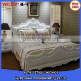 Modern design of single/king/queen size wooden bed customer tailor-made K/D bedroom furniture