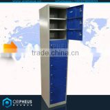 OEM steel school lockers office furniture metal Locker cellphone locker charging station cabinet