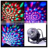 Mini and Delicate Design LED Stage Light Party LED Mini Crystal Ball Sound Control for Disco,all kinds of Parties
