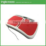 Dual-motor Compact Vibrating Foot Massaging Plate Body Shaker Fit Massage Vibration Plate