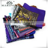 fashion digital printed silk handkerchiefs
