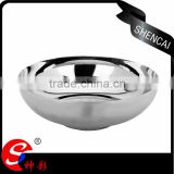 Mirror polished food grade cheap stainless steel soup bowl / stainless steel rice bowl india