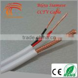 RG59 2C Cable Camera Factory Supply High Quality 305m HD Video Shotgun CCTV RG59 Siamese Cable