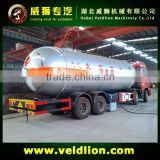 60000 Liters LPG gas Tank Truck Trailer