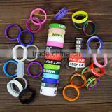New design colorful anti-slip vapor band vape band OEM Silicone ring vape band for ecig atomizer vaporizer with best price