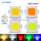 1W 3W 10W 20W 30W 50W 100W High Power LED Beads COB Led Chips For Floodlight Lamp Led Spotlight White / Red / Green / Blue / RGB
