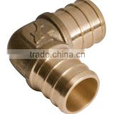 ELBOW BRASS PNEUMATIC CONNECTOR;COPPER CONNECTOR PUSH FITTING