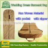Foldable Wedding Garment Bag Cover with Pocket / Suit Garment Bag Cover / Storage Cloth Garmetn Bag Cover