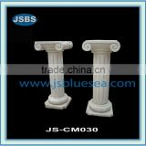 Hand Carved White Marble Stone Gate Pillar Design For Homes