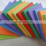 Best price Eco-friendly Colorful various grades and SHORE hardness closed cell eva foam sheets