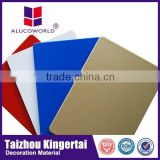 Alucoworld recycling construction material for wall decorative aluminum composite panel pvdf coated