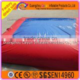 New design high fall big airbag inflatable jump air bag for skiing, freestyle bag jump for stunt