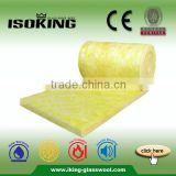 ISOKING 50mm Cheap Glass Wool Insulation Roll Price                                                                         Quality Choice
