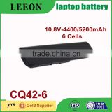 LEEON 5200mAh laptop battery for HP PAVILION DM4 DV3 DV4 DV5 DV6 DV7 G4 G6