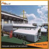 10x25m Double Decker Tents With Advertising Banners China Tents Manufacturer