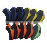 Neoprene Golf Iron Head Covers