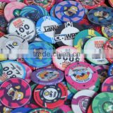 10.0gram Customized Professional Ceramic Poker Chips                                                                         Quality Choice