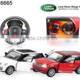 1:14 7 Channel Steering Wheel RC Licensed Car with light and charger, battery