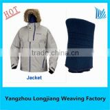 hot sale knitted 100 cotton 1x1 rib knitted fabric for vietnam factory manufacturer
