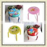 Stackable Soft Kids Foam Sitting Baby Low Chair with PU Leather