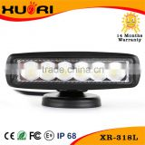 Factory Directly! Black Car AUTO Parts 6inch 18w Slim LED Work Light Accessories Auto Tractor Offroad Light                                                                         Quality Choice