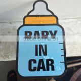 Custom Full Colors baby on board car stickers PVC Material and Body Stickers Use car full body vinyl sticker --DH20448