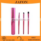 Alibaba China cheap 1 dollar makeup brush with aluminum case                                                                                                         Supplier's Choice