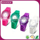 Wholesale Products Silicon 3Atm Water Resistant Stainless Steel Watch