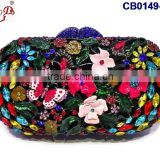 CB0149 beautiful fancy style lady bag with popular design high quality for wedding party