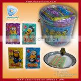 Despicable Me mix fruit cc stick with puzzle toy                                                                         Quality Choice