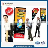 Classical Custom Made Advertising Backpack Banner