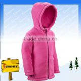 JHDM-1556-1 baby windstopper polar fleece jacket with hood                                                                         Quality Choice