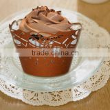 Eco-friendly factory price fantastic paper cupcake liners baking design