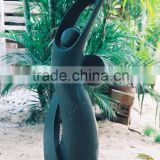 Woman Man Son Statue Abstract Marble Hand Carving Sculpture For Garden, Home, Street, Decoration And Restaurant