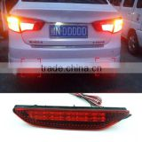 Car Rear Brake Lights Rear Bumper LED Warning Lights Rear Reflector Lights For Kia Rio K2 Sedan 2011 2012 2013 2014                                                                         Quality Choice