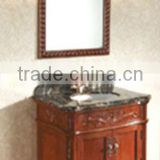 40 inch bathroom vanity with attached mirror