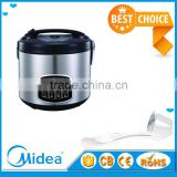 Midea rice cooker with steaming basket model fashion multi cooker cylinder electric rice cooker