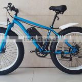 fat tire electric bike 26 inch E cycle 350W brushless hub motor