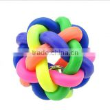 OEM rainbow pet toy for dog/chew toy for treat dog/dog detal pet toy manufacturer in china