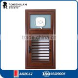 Rogenilan 45 series latest design adjustable blinds aluminum jalousie with competitive price