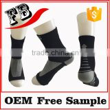 fancy compression sock custom made designs socks airline hotel medical hospital single sole non slip