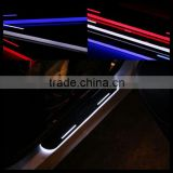 door sill plate light led moving door scuff for audi q7 q3 q5 a7 s7 rs7 a6l a5 s5 a4l s4 a3 s3