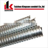 stainless steel SUS 304/201 flexible fire resistant conduit