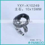 Factory direct wholesale vintage blank ring for men and women