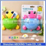 New tortoise Cartoon Sucker Toothbrush Holder,Cute Suction Hook Toothbrush Rack,Accessories Set Suction Cup Tool For Bathroom