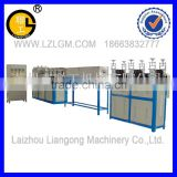 PVC cold bending pipe (threading pipe) production line/pipe making machine/threading pipe production line