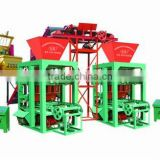 low investment high profit electric semi-automatic concrete block machine,equipment from china
